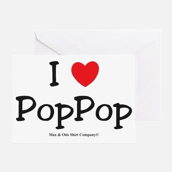 i-heart-pop-pop Greeting Card