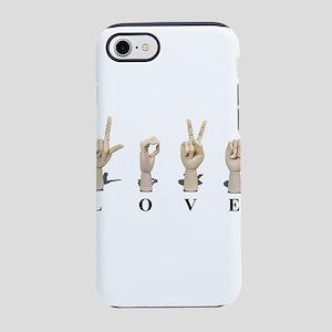 LoveAmeslan062511 iPhone 7 Tough Case