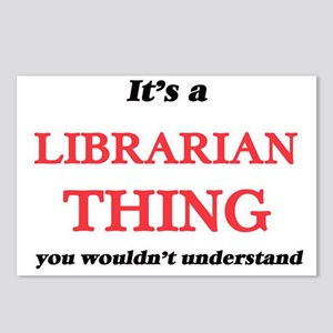 It's and Librarian th Postcards (Package of 8)