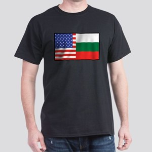USA/Bulgaria Dark T-Shirt