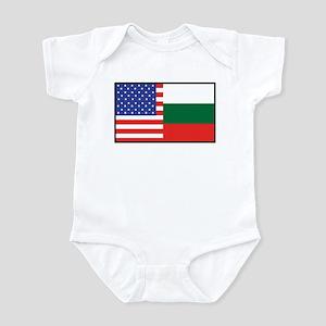 USA/Bulgaria Infant Bodysuit