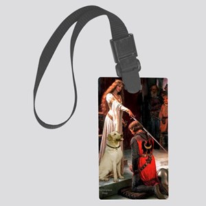 Accolade (Journal) - Yellow Lab  Large Luggage Tag