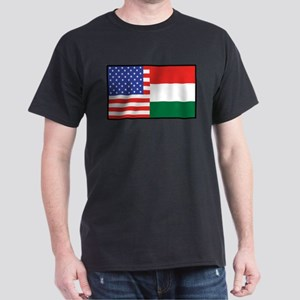 USA/Hungary Dark T-Shirt