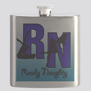 RN Really Naughty background Flask