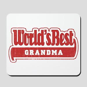 """World's Best Grandma"" Mousepad"