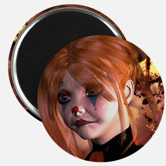 The sweet sad clown Magnets