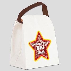 Im kind of a big deal vintage Canvas Lunch Bag