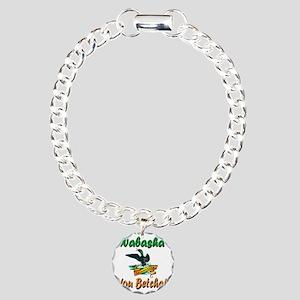 WabashaMinnesotaLoon Charm Bracelet, One Charm