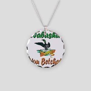 WabashaMinnesotaLoon Necklace Circle Charm