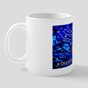 Aquarius 17 x 11 Mug