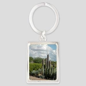 desert_scene_card Portrait Keychain