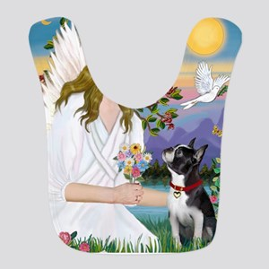 Angel Love - Boston Terrier (8x10) Bib