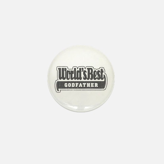 """World's Best Godfather"" Mini Button"