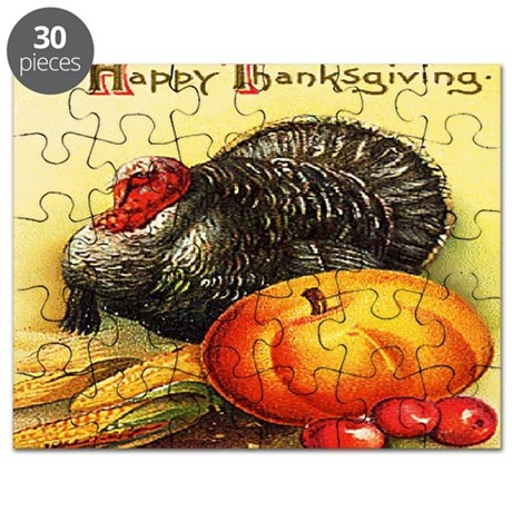 turkey_w_pumpkin_card Puzzle