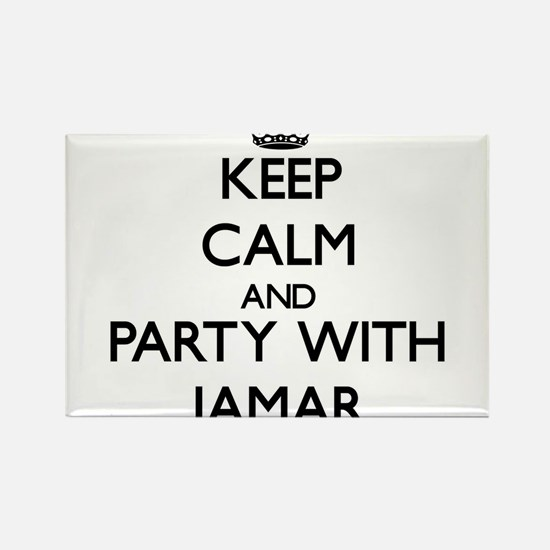 Keep Calm and Party with Jamar Magnets