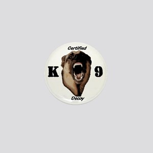 CK9D with dog  FRONT AND BACK 10x10_ap Mini Button