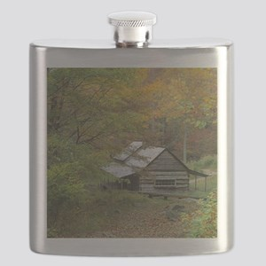 Home Sweet Home Cabin Flask