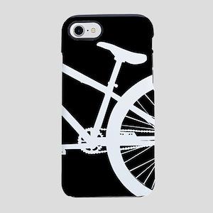 Black and White Bike iPhone 7 Tough Case