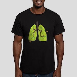 paru2-cut Men's Fitted T-Shirt (dark)