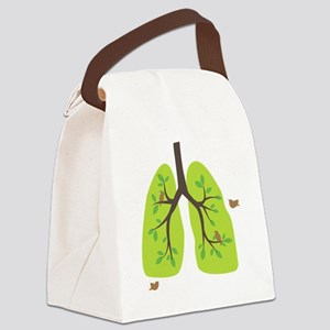 paru2-cut Canvas Lunch Bag