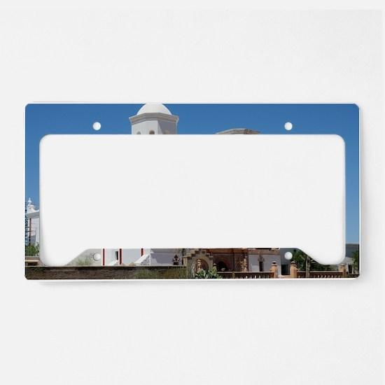 xavier_Lg_framed License Plate Holder