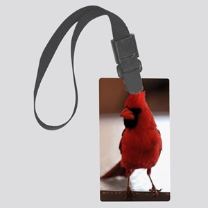 cardinal_lg_framed Large Luggage Tag