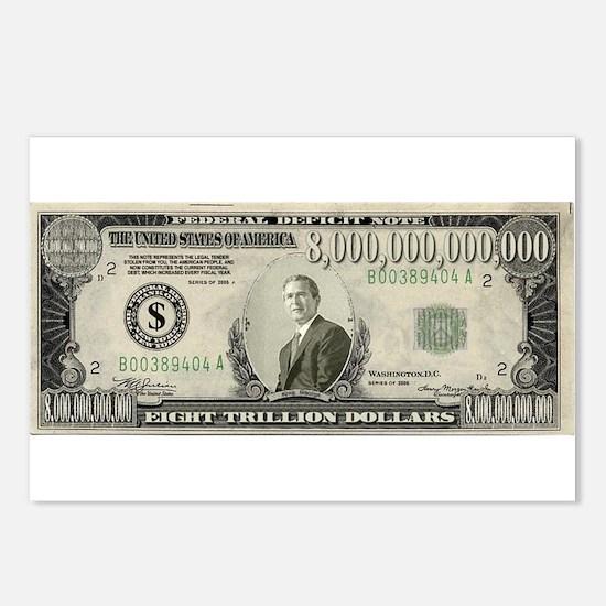 National Debt Postcards (Package of 8)