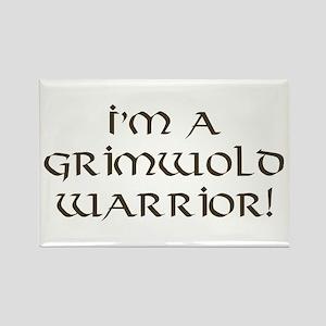 Grimwold Warrior Rectangle Magnet