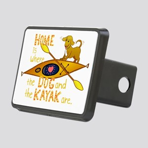 HOMEkayakDOGdark Rectangular Hitch Cover