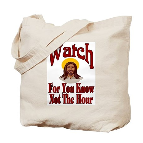 Watch Tote Bag