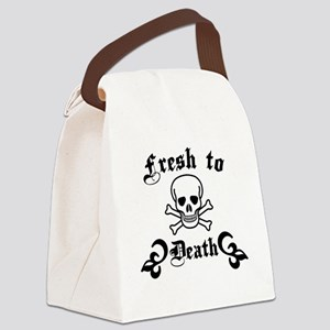 fresh-to-death Canvas Lunch Bag