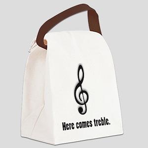 treble Canvas Lunch Bag