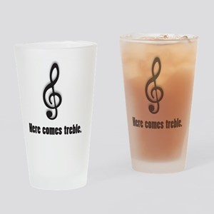 treble Drinking Glass
