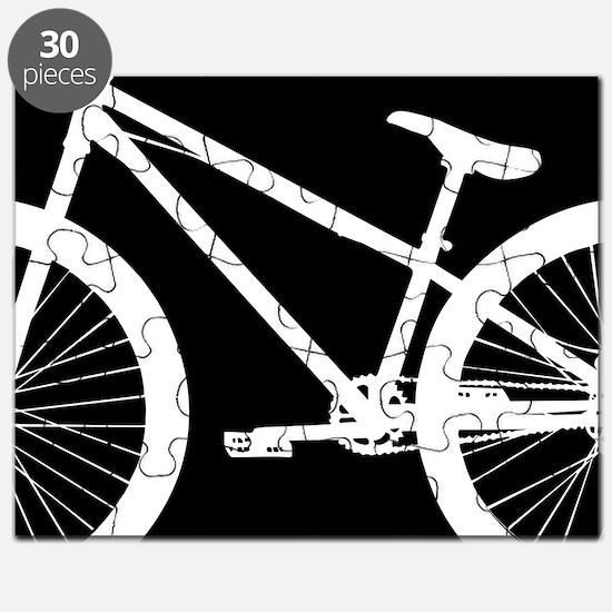 Black and White Bike Puzzle