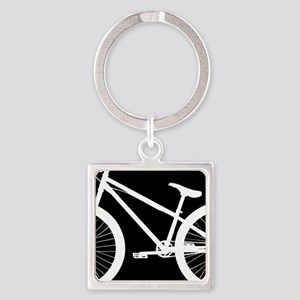 Black and White Bike Keychains