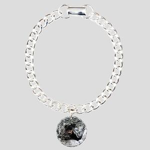 Morganzebra1 Charm Bracelet, One Charm