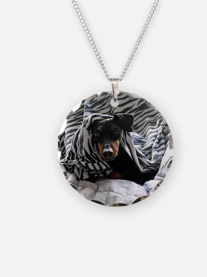 Morganzebra1 Necklace