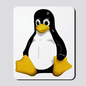 tux.bigger.alpha Mousepad