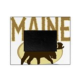 Maine moose Picture Frames