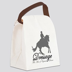 Dressage Dance Canvas Lunch Bag