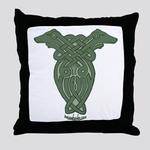 Celtic Greyhound Throw Pillow