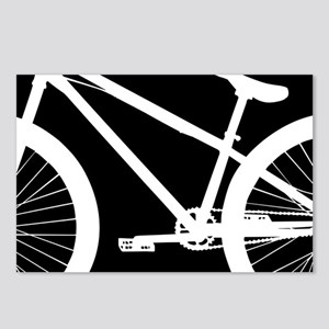 Black and White Bike Postcards (Package of 8)