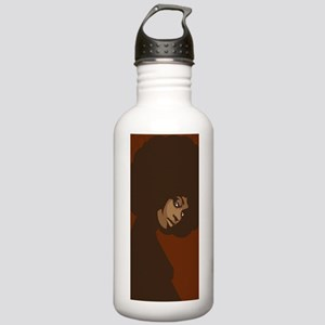 afrolicious4Gclear Stainless Water Bottle 1.0L