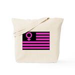 Female Flag Tote Bag