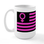 Female Flag Large Mug