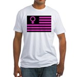 Female Flag Fitted T-Shirt