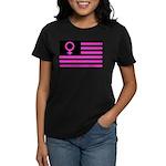 Female Flag Women's Dark T-Shirt