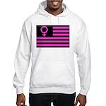 Female Flag Hooded Sweatshirt