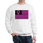 Female Flag Sweatshirt