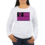 Female Flag Women's Long Sleeve T-Shirt